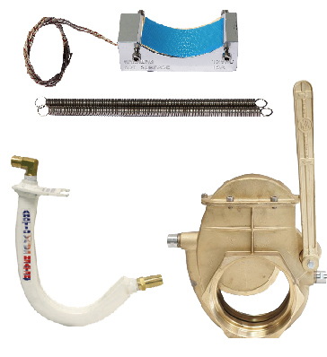 Valve heaters & heated valves